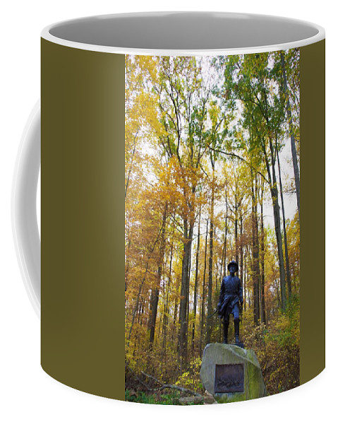 Alicegipsonphotographs Coffee Mug featuring the photograph General In The Colors by Alice Gipson