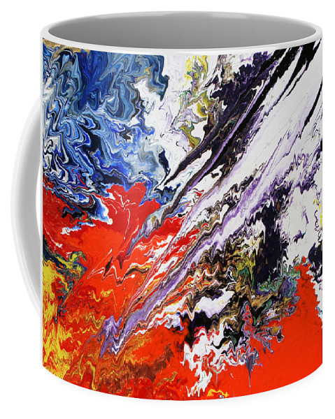 Fusionart Coffee Mug featuring the painting Genesis by Ralph White
