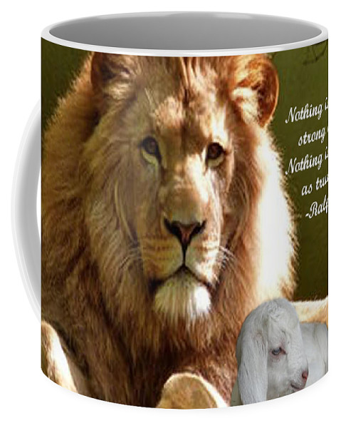 Photography Coffee Mug featuring the photograph Gentle Strength by L Lindall