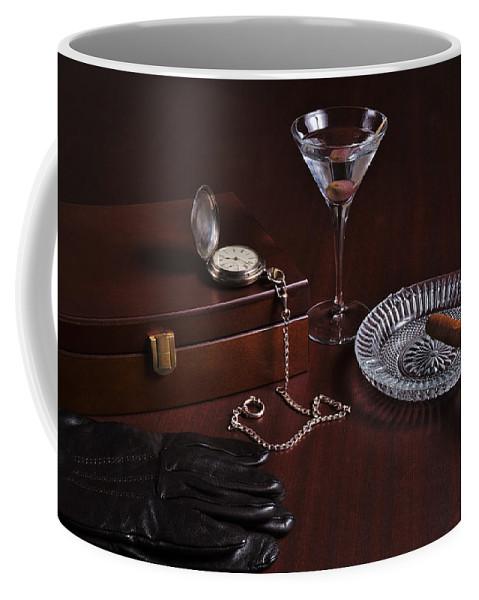 Gentleman Coffee Mug featuring the photograph Gentleman's Pause by Angelo DeVal