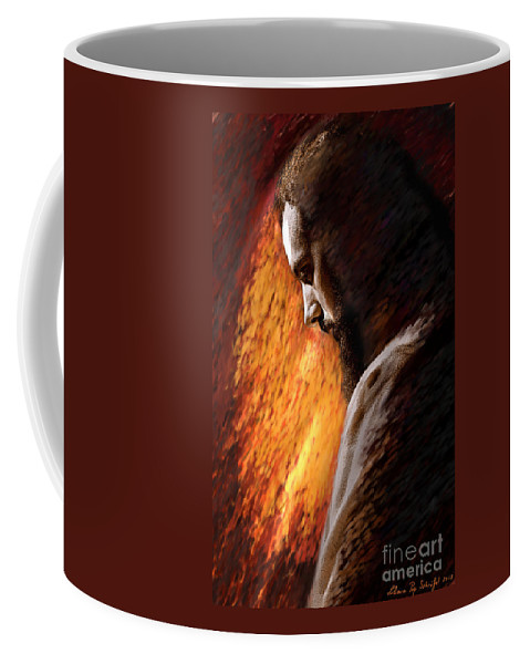 Gentleness Coffee Mug featuring the digital art Gentleness by Liliana Pop Schroffel