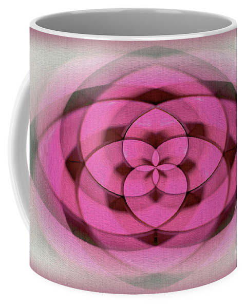 Photography Coffee Mug featuring the photograph Geometrical Colors And Shapes 4 - Hearts by Kaye Menner