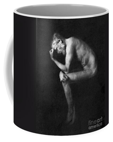 19th Century Coffee Mug featuring the photograph George Bernard Shaw by Granger