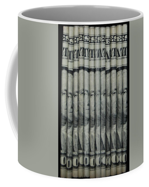 Money Coffee Mug featuring the photograph Georges by Rob Hans