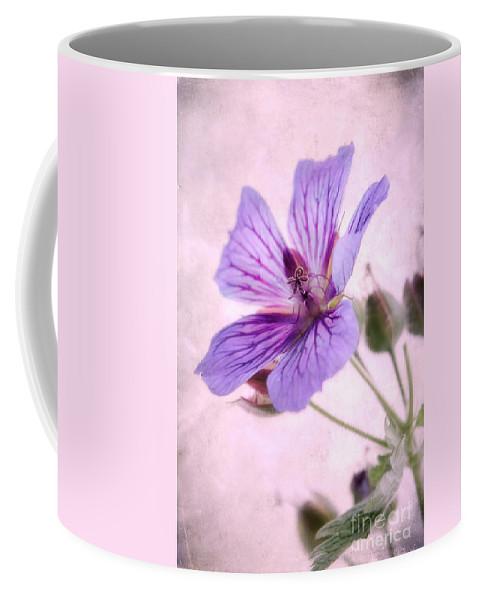 Geranium Maculatum Coffee Mug featuring the photograph Geranium Maculatum by John Edwards