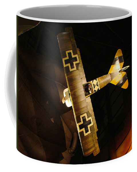 Usaf Museum Coffee Mug featuring the photograph German Wwi Attack by Tommy Anderson