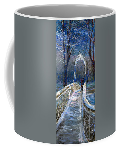 Pastel Coffee Mug featuring the painting Germany Baden-baden 02 by Yuriy Shevchuk