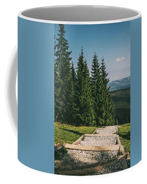 Gesia Szyja Coffee Mug featuring the photograph Gesia Szyja Way Up by Pati Photography
