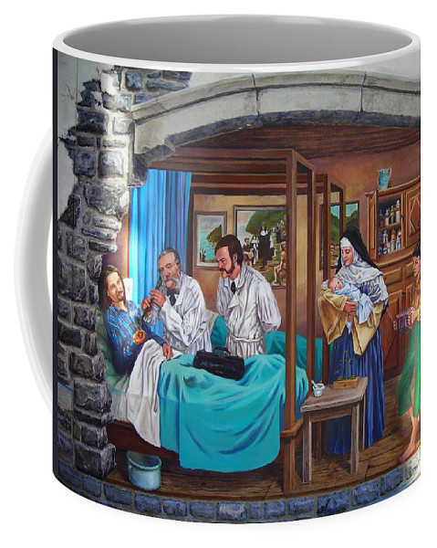 Paint Coffee Mug featuring the photograph Get Well Soon ... by Juergen Weiss
