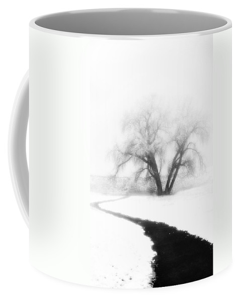 Tree Coffee Mug featuring the photograph Getting There by Marilyn Hunt