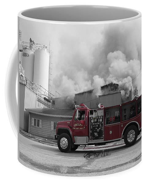 Selective Coloring Coffee Mug featuring the photograph G.f.d. by Dylan Punke