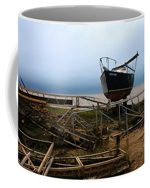 Clay Coffee Mug featuring the photograph Ghost by Clayton Bruster