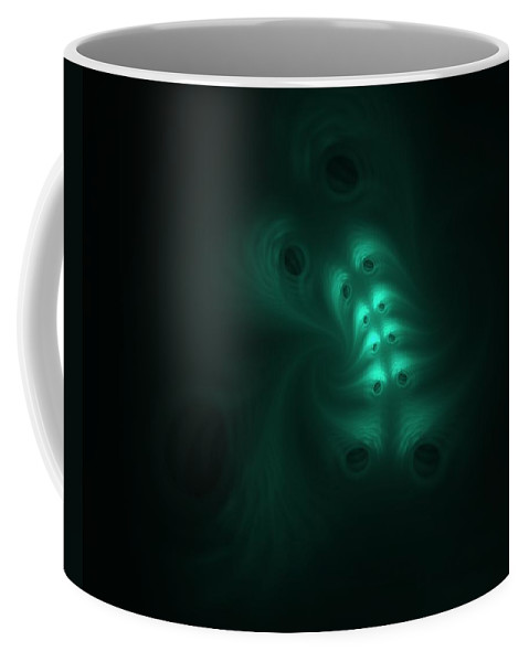 Digital Painting Coffee Mug featuring the digital art Ghost In The Machine by David Lane