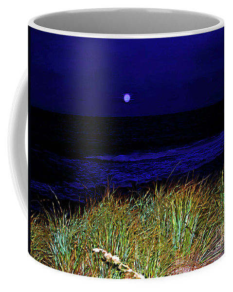Fine Art Photography Coffee Mug featuring the photograph Ghost Moon by Patricia Griffin Brett