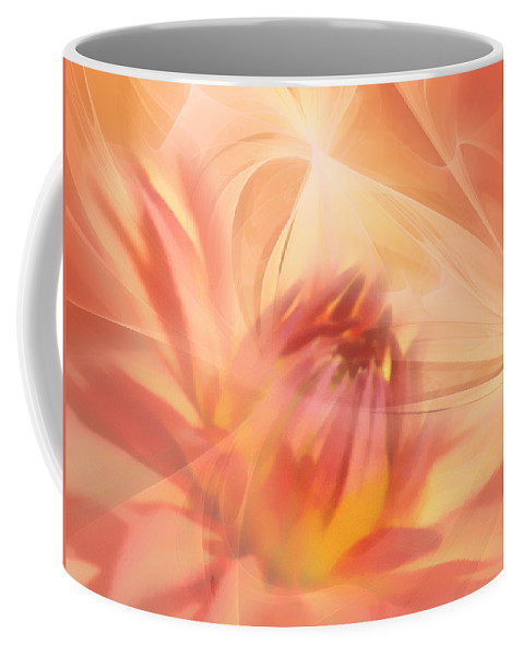 Flower Coffee Mug featuring the mixed media Ghost Of Ophelia by Georgiana Romanovna