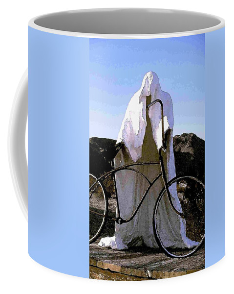 Ghost Coffee Mug featuring the photograph Ghost Rider by Nelson Strong