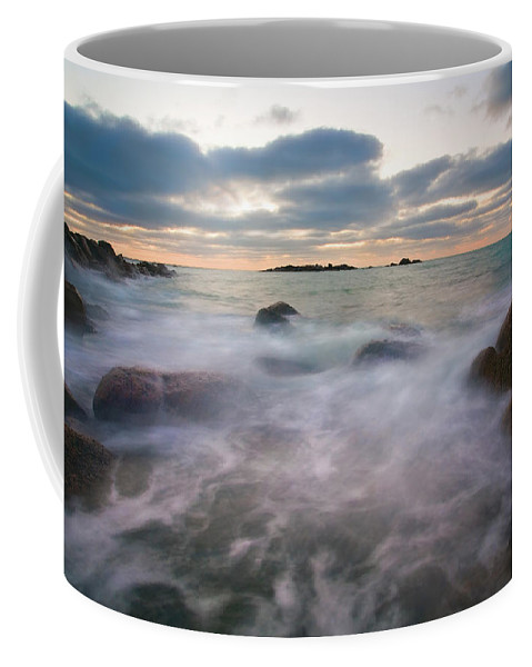 Tides Coffee Mug featuring the photograph Ghost Tides by Mike Dawson