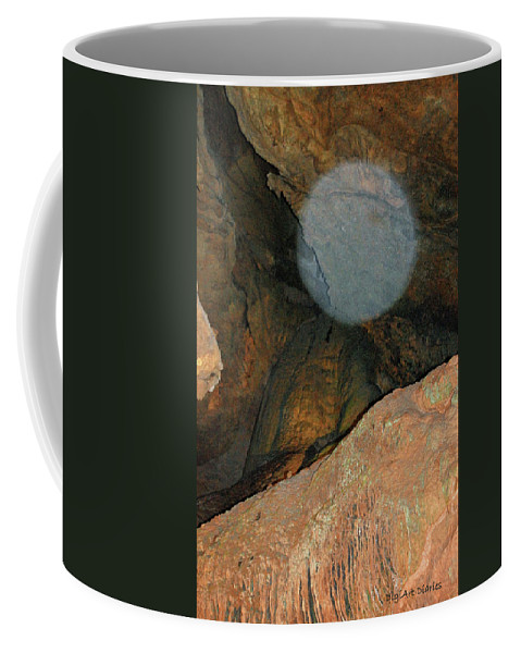 Orb Coffee Mug featuring the photograph Ghostly Presence by DigiArt Diaries by Vicky B Fuller