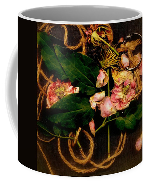 Flower Coffee Mug featuring the photograph Giardino Romantico by Andrew Gillette