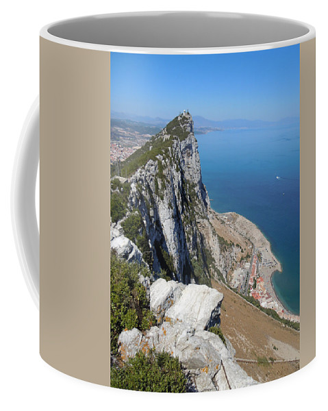 Europe Coffee Mug featuring the photograph Gibraltar by Heather Coen