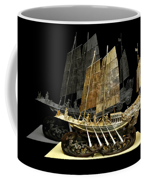 Teddy Coffee Mug featuring the photograph Gift To Teddy by Martin Brockhaus