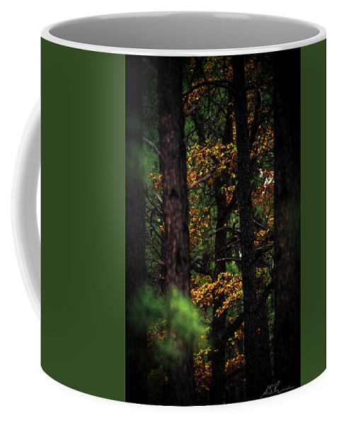 Coffee Mug featuring the photograph Gilded Visions by AJ Ringstrom