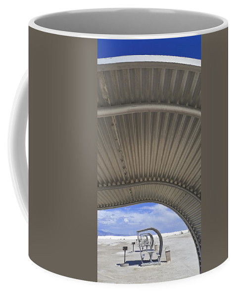 Gimme Shelter Coffee Mug featuring the photograph Gimme Shelter by Skip Hunt