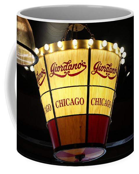 Giordano's Chicago Pizza Chandelier Coffee Mug