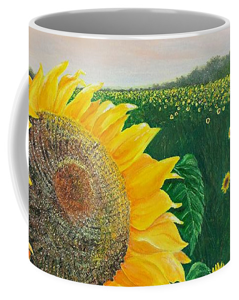 Sue Delain Coffee Mug featuring the painting Giver Of Life by Susan DeLain