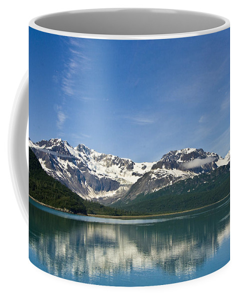 Alaska Coffee Mug featuring the photograph Glacier Bay by Ches Black