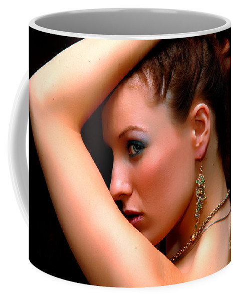 Clay Coffee Mug featuring the photograph Glam Girl by Clayton Bruster