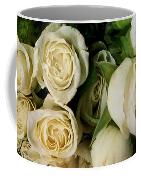 Roses Coffee Mug featuring the photograph Glamour by RC deWinter