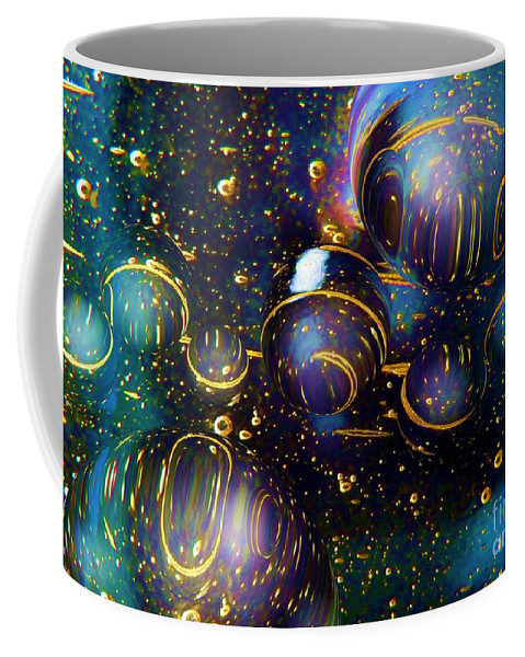 Colorful Coffee Mug featuring the photograph Glass Bubbles 2 by Dale Crum