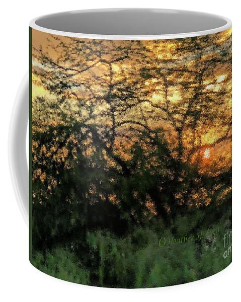 Sunset Coffee Mug featuring the photograph Glass Sunset Hawaii by Heather Coen