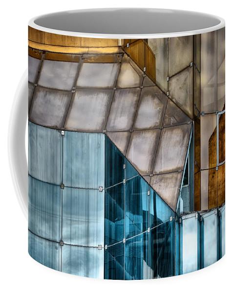 Glass Coffee Mug featuring the photograph Glassed by Wayne Sherriff