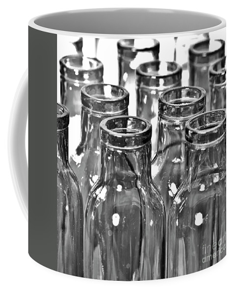 B & W Coffee Mug featuring the photograph Glassware by Heiko Koehrer-Wagner