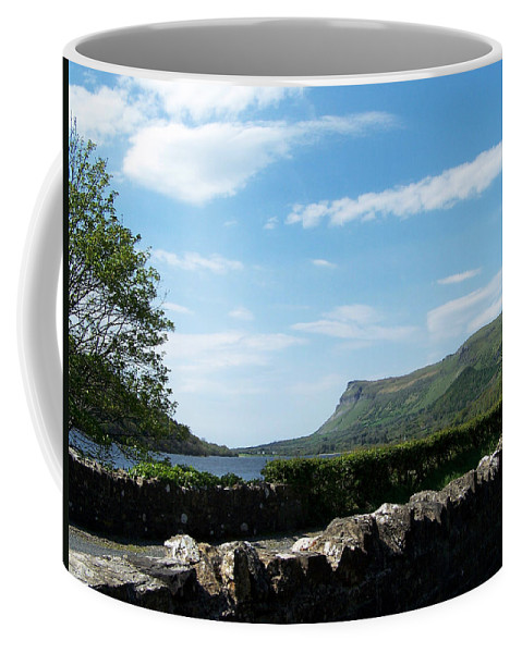 Irish Coffee Mug featuring the photograph Glencar Lake With View Of Benbulben Ireland by Teresa Mucha