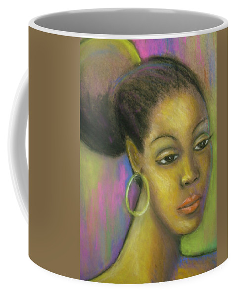 Drawing Coffee Mug featuring the drawing Glisten by Jan Gilmore