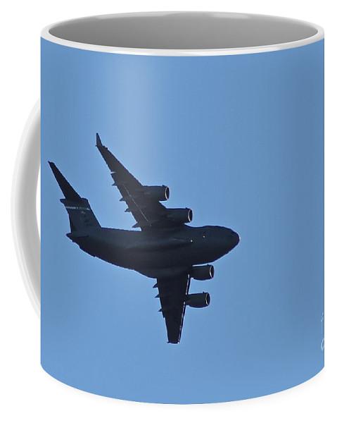 C-17 Coffee Mug featuring the photograph Globe Master by Rick Monyahan