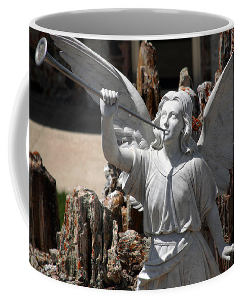 Angel Coffee Mug featuring the photograph Gloria In Excelsis Deo by Susanne Van Hulst