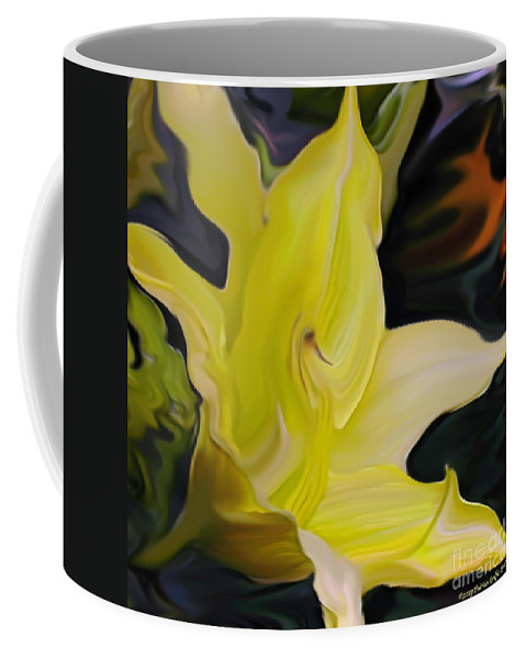 Fine Art Print Coffee Mug featuring the painting Glory II by Patricia Griffin Brett