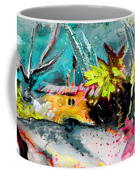 Pastel Painting Coffee Mug featuring the painting Glory Of Nature by Miki De Goodaboom