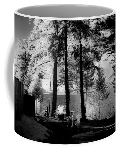 Scenic Coffee Mug featuring the photograph Glow 2 by Lee Santa