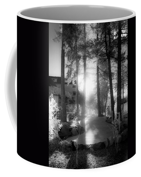 Scenic Coffee Mug featuring the photograph Glow by Lee Santa