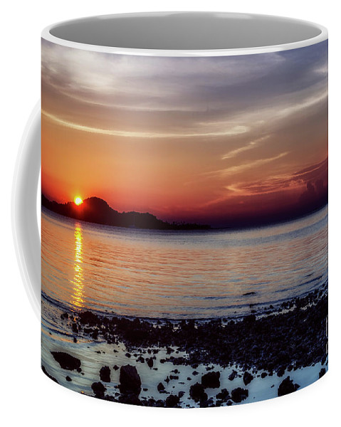 Michelle Meenawong Coffee Mug featuring the photograph Glowing Evening by Michelle Meenawong