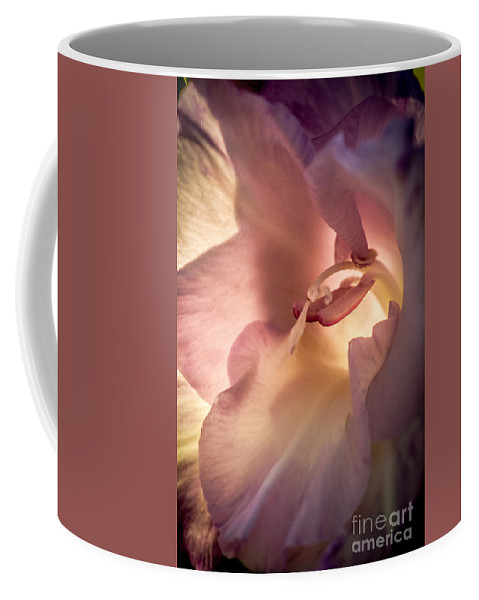 Flower Coffee Mug featuring the photograph Glowing Glad by Robert Bales