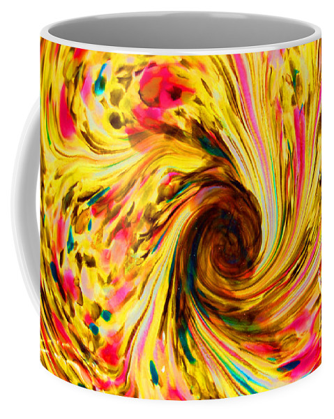 Yellow Coffee Mug featuring the photograph Go Ask Alice by Debbi Granruth