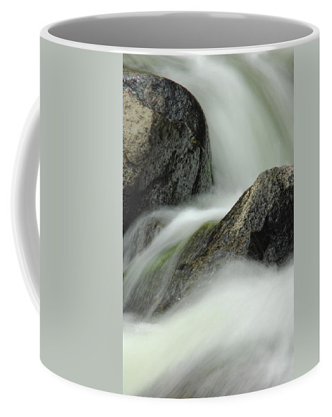 Creek Coffee Mug featuring the photograph Go With The Flow by Donna Blackhall