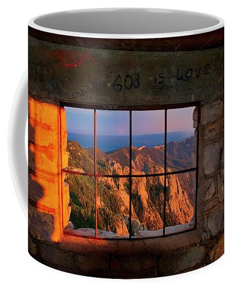 Nature Coffee Mug featuring the photograph God is Love by Zayne Diamond Photographic