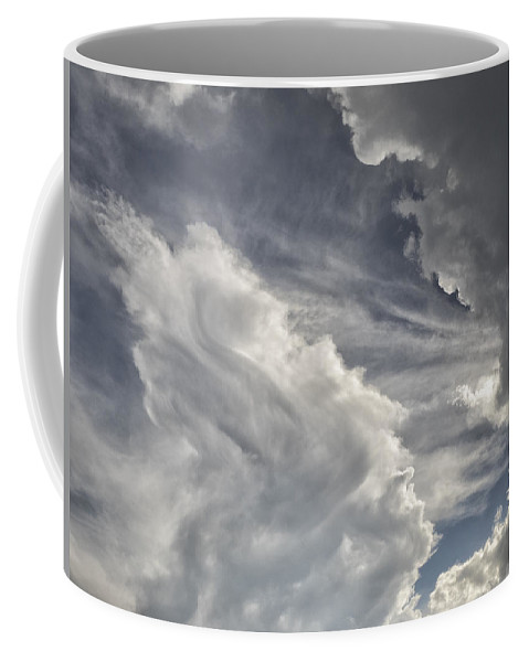 Nebraska Coffee Mug featuring the photograph God Speaks by Dan Leffel